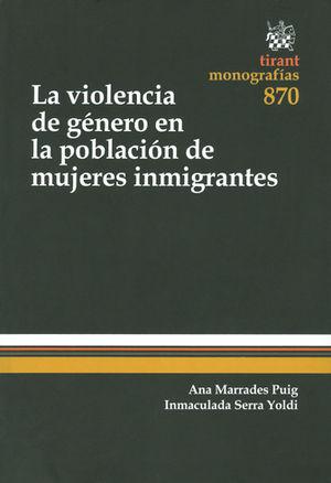 VIOLENCIA DE GÉNERO EN LA POBLACIÓN DE MUJERES INMIGRANTES LA