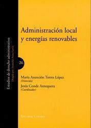 ADMINISTRACIÓN LOCAL Y ENERGÍAS RENOVABLES