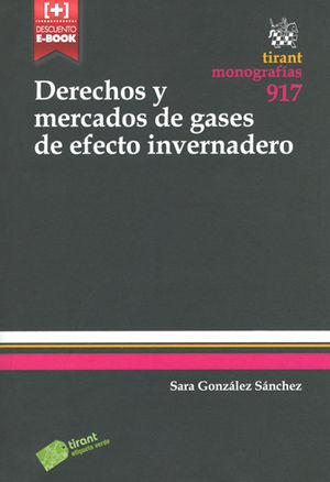 DERECHOS Y MERCADOS DE GASES DE EFECTO INVERNADERO
