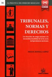 TRIBUNALES, NORMAS Y DERECHOS