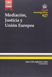 MEDIACIÓN, JUSTICIA Y UNIÓN EUROPEA