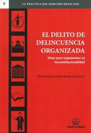 DELITO DE DELINCUENCIA ORGANIZADA, EL
