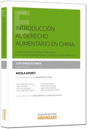 INTRODUCCIÓN AL DERECHO ALIMENTARIO EN CHINA