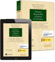 PRÉSTAMO RESPONSABLE Y FICHEROS DE SOLVENCIA (PAPEL + E-BOOK)