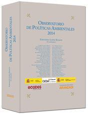 OBSERVATORIO DE POLÍTICAS AMBIENTALES 2014