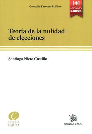 TEORÍA DE LA NULIDAD DE ELECCIONES