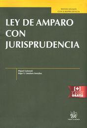 LEY DE AMPARO CON JURISPRUDENCIA
