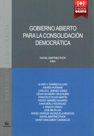 GOBIERNO ABIERTO PARA LA CONSOLIDACIÓN DEMOCRÁTICA