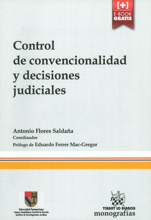CONTROL DE CONVENCIONALIDAD Y DECISIONES JUDICIALES