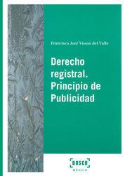 DERECHO REGISTRAL. PRINCIPIO DE PUBLICIDAD