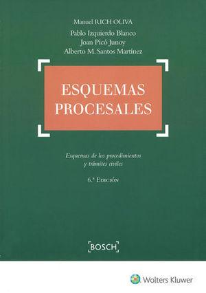 ESQUEMAS PROCESALES (6.ª EDICIÓN)