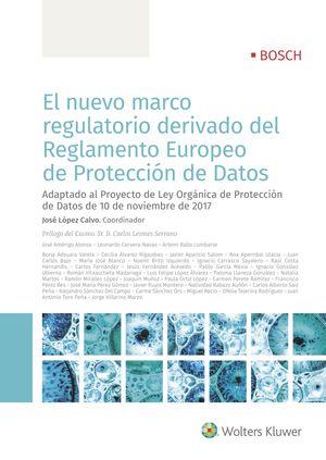 NUEVO MARCO REGULATORIO DERIVADO DEL REGLAMENTO EUROPEO DE PROTECCIÓN DE DATO, EL
