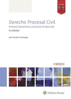 DERECHO PROCESAL CIVIL (5.ª EDICIÓN)