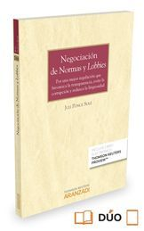 NEGOCIACIÓN DE NORMAS Y LOBBIES (PAPEL + E-BOOK)