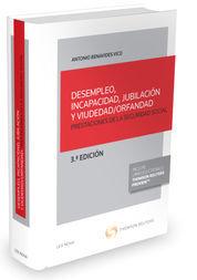 DESEMPLEO, INCAPACIDAD, JUBILACIÓN Y VIUDEDAD/ORFANDAD (PAPEL + E-BOOK)