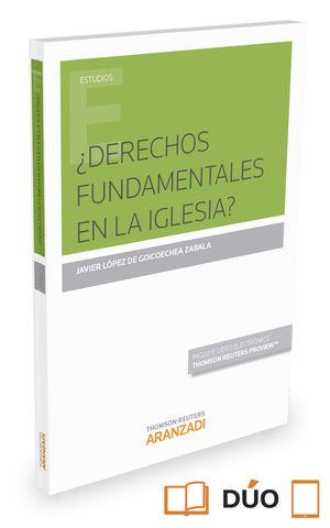 DERECHOS FUNDAMENTALES EN LA IGLESIA (PAPEL + E-BOOK)