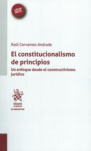 CONSTITUCIONALISMO DE PRINCIPIOS, EL