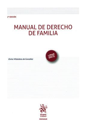 MANUAL DE DERECHO DE FAMILIA 2ª ED. 2016