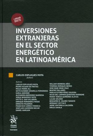 INVERSIONES EXTRANJERAS EN EL SECTOR ENERGÉTICO EN LATINOAMÉRICA
