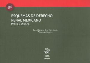 ESQUEMAS DE DERECHO PENAL MEXICANO. PARTE GENERAL