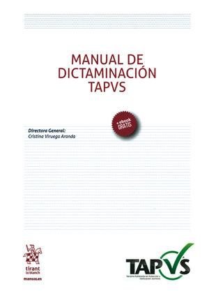 MANUAL DE DICTAMINACIÓN TAPVS