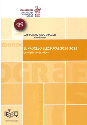 PROCESO ELECTORAL 2014-2015