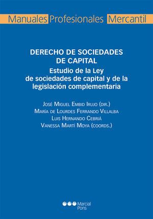 DERECHO DE SOCIEDADES DE CAPITAL