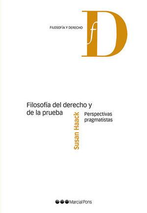 FILOSOFIA DEL DERECHO Y DE LA PRUEBA.