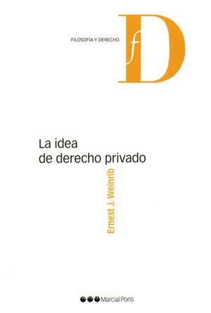 IDEA DE DERECHO PRIVADO, LA