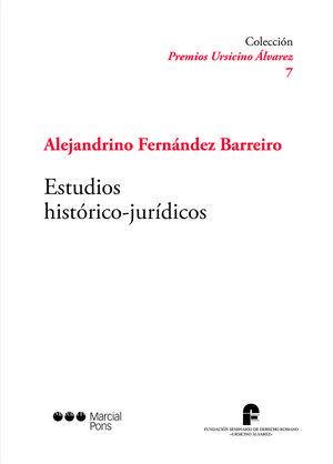 ESTUDIOS HISTÓRICOS-JURÍDICOS