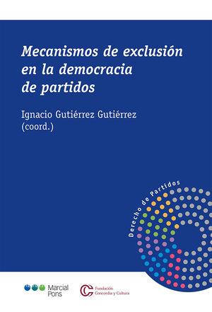 MECANISMOS DE EXCLUSIÓN EN LA DEMOCRACIA DE PARTIDOS
