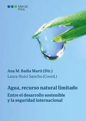 AGUA, RECURSO NATURAL LIMITADO