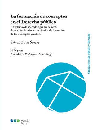 FORMACIÓN DE CONCEPTOS EN EL DERECHO PÚBLICO, LA