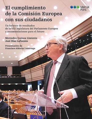 CUMPLIMIENTO DE LA COMISIÓN EUROPEA CON SUS CIUDADANOS, EL