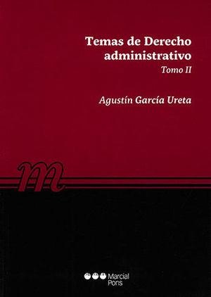 TEMAS DE DERECHO ADMINISTRATIVO TOMO II