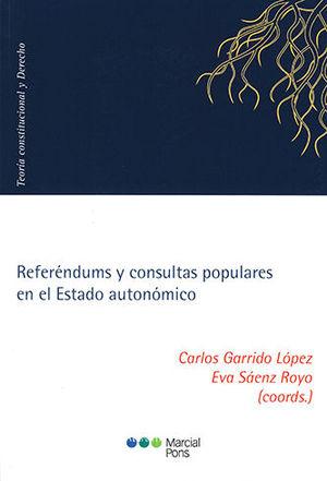 REFERÉNDUMS Y CONSULTAS POPULARES EN EL ESTADO AUTONÓMICO