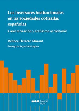 INVERSORES INSTITUCIONALES EN LAS SOCIEDADES COTIZADAS ESPAÑOLAS, LOS