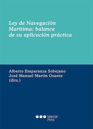 LEY DE NAVEGACION MARITIMA