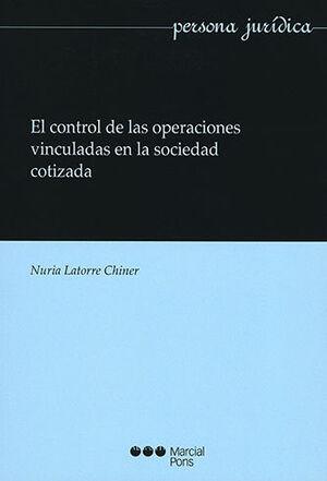 CONTROL DE LAS OPERACIONES VINCULADAS EN LA SOCIEDAD COTIZADA, EL