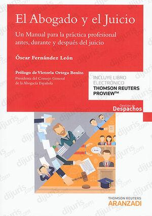 EL ABOGADO Y EL JUICIO (PAPEL + E-BOOK)
