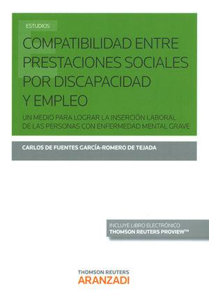 COMPATIBILIDAD ENTRE PRESTACIONES SOCIALES POR DISCAPACIDAD Y EMPLEO (PAPEL + E-