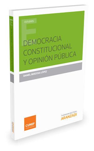 DEMOCRACIA CONSTITUCIONAL Y OPINIÓN PÚBLICA