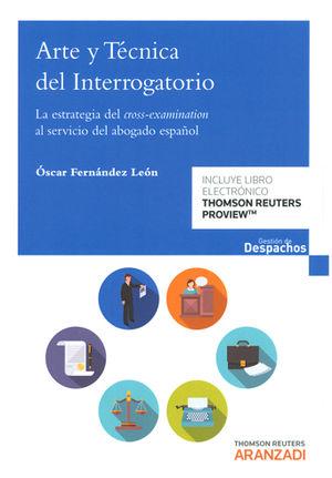 ARTE Y TÉCNICA DEL INTERROGATORIO (PAPEL + E-BOOK)