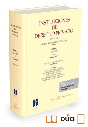 INSTITUCIONES DE DERECHO PRIVADO TOMO II REALES