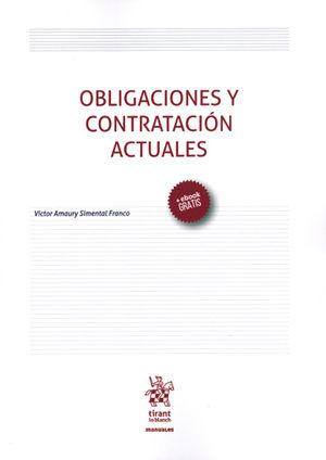 OBLIGACIONES Y CONTRATACIÓN ACTUALES