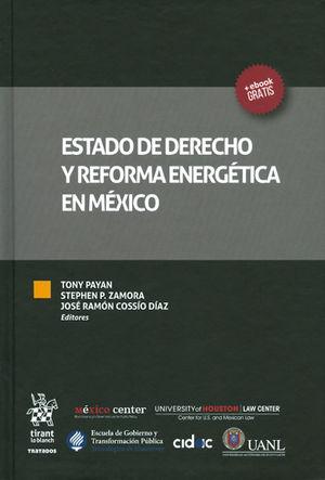 ESTADO DE DERECHO Y REFORMA ENERGÉTICA