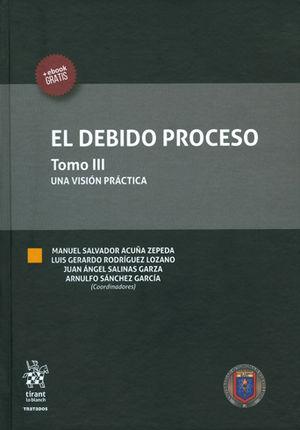 DEBIDO PROCESO, EL TOMO III