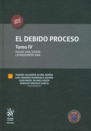 DEBIDO PROCESO, EL TOMO IV