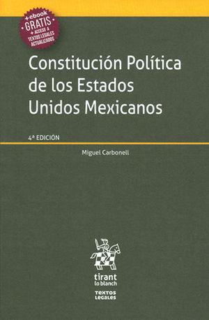 CONSTITUCIÓN POLÍTICA DE LOS ESTAODS UNIDOS MEXICANOS
