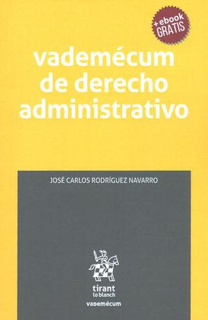 VADEMÉCUM DE DERECHO ADMINISTRATIVO + EBOOK GRATIS
